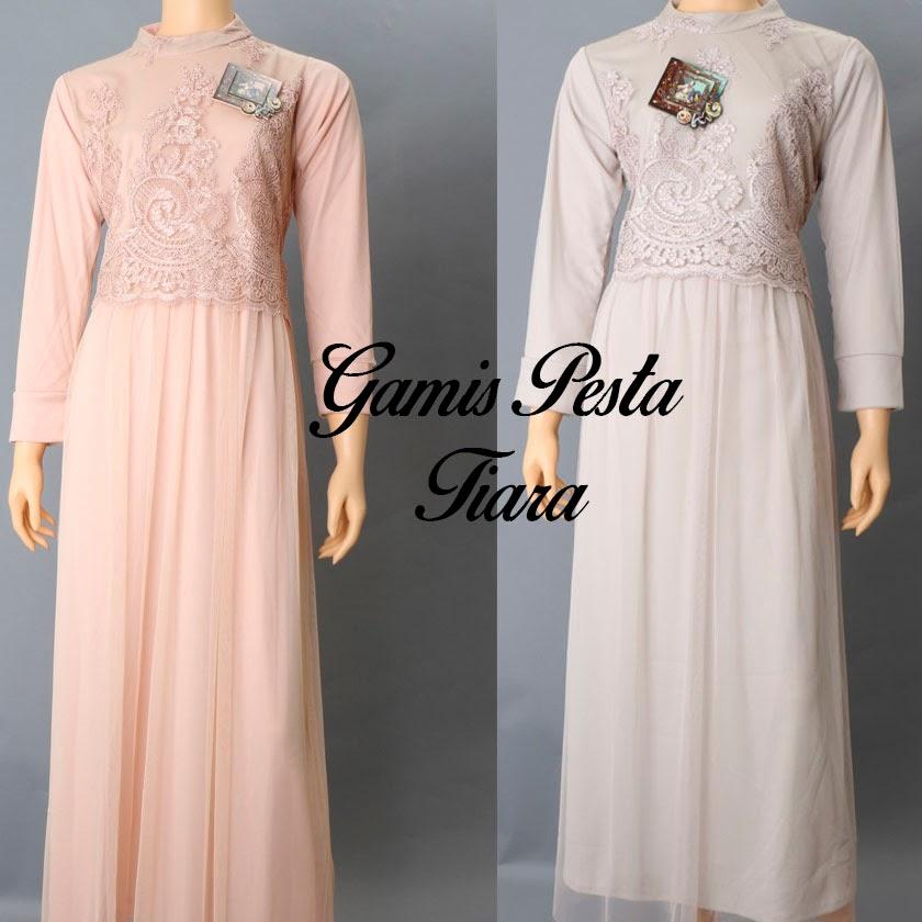 Model Baju Pesta Muslimah Dari Bahan Sifon Model Baju Baju Gamis