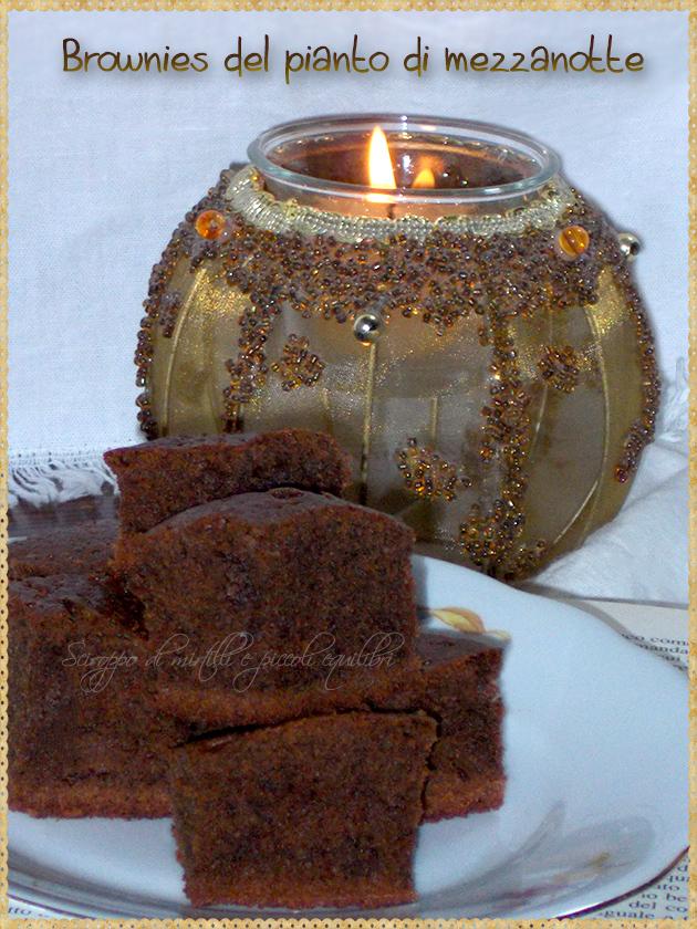 Brownies del pianto di mezzanotte