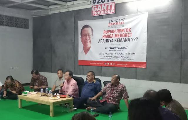 Alasan Rakyat Ingin Ganti Presiden, Rizal Ramli: Karena Umat Islam Didiskriminasi
