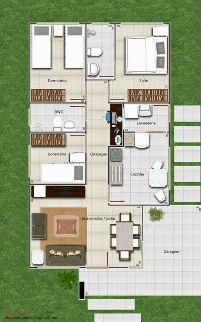 plano de casa moderna de m with disear planos de casas gratis