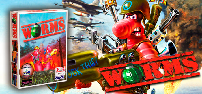 Worms IBM PC 3½ (Ocean Software, 1995)