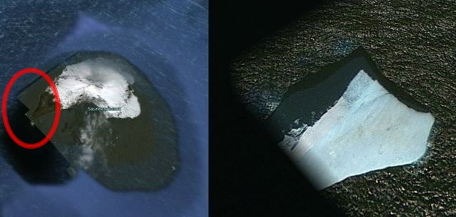 What's wrong with this satellite image of Saunders Island?  Saunders%2BIsland%2B%25285%2529