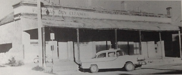 The Queanbeyan Age Building in 1956 when the Bradleys and the Woods family went into partnership with the Shakespeare family of  The Canberra Times.