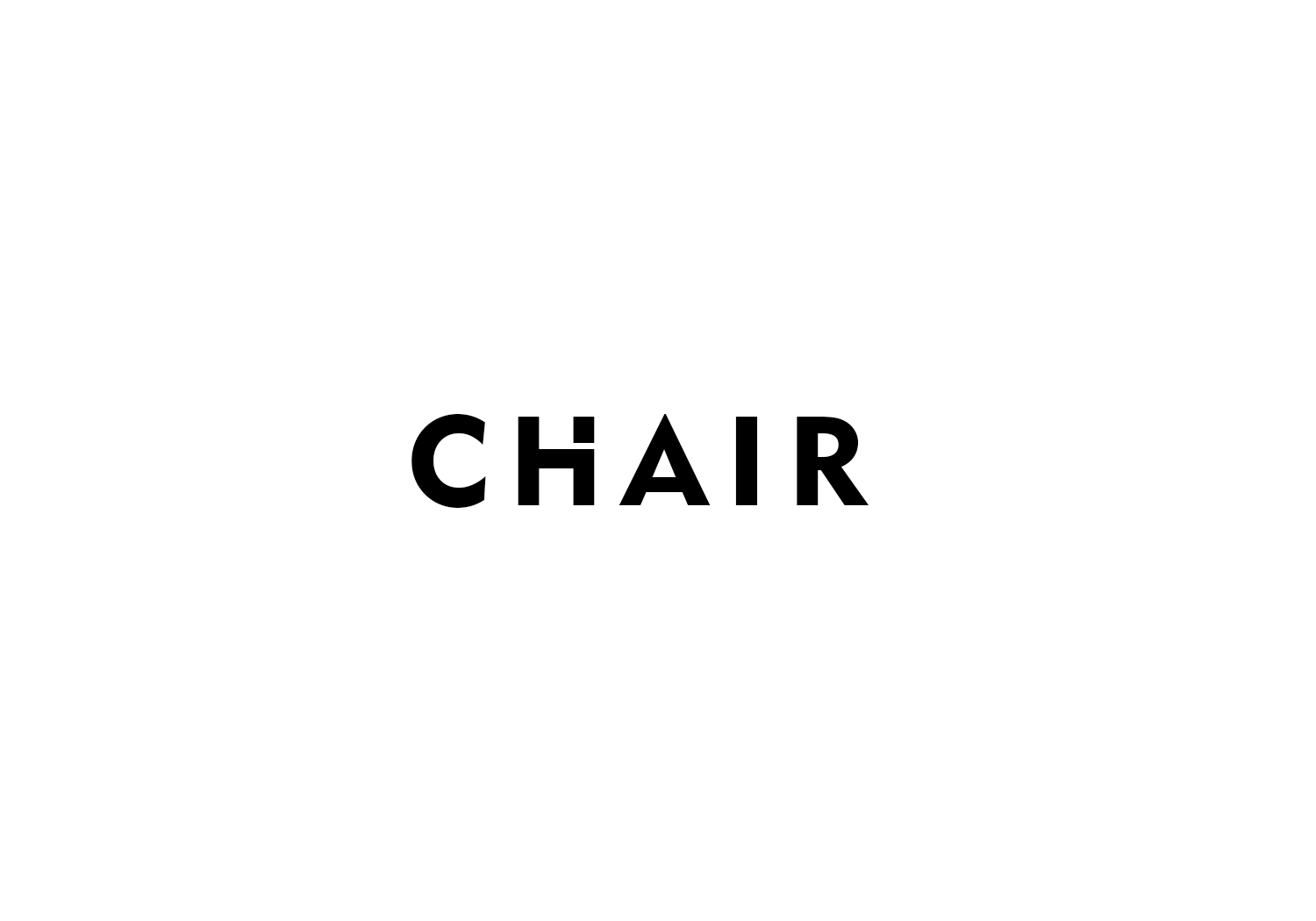 Chair Logo Design Ideas