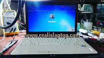 service laptop lenovo y450 mati total
