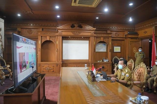 Gubernur Jambi Al Haris hadiri peresmian peluncuran Online Single Submission (OSS)