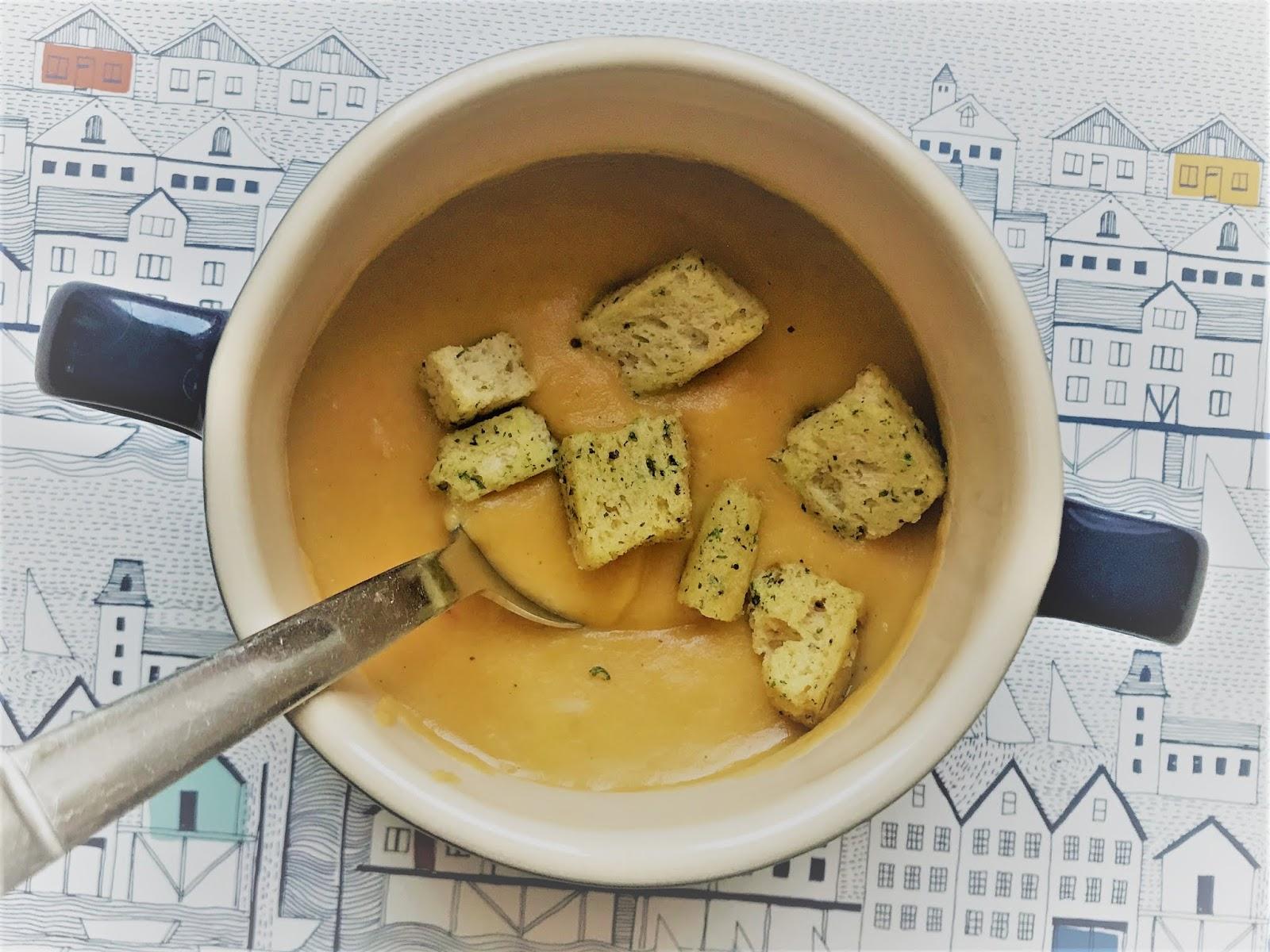 Maggie's Parsnip & Sweet Potato Soup