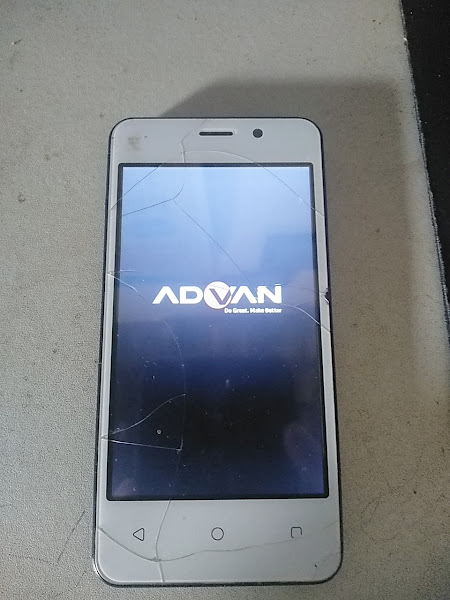 Cara Flash Advan S40 3G BootLoop Stuck Logo