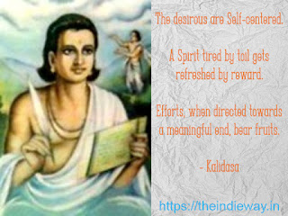 Kalidasa - The Great Indian Sanskrit Poet, THE MOTIVATORS - https://theindieway.in
