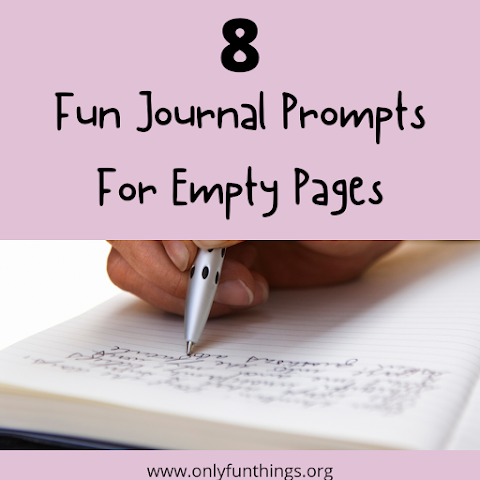 8 Fun Prompts for Empty Journal Pages