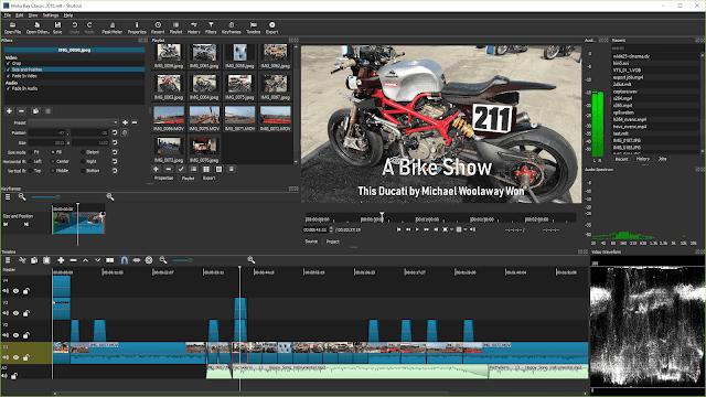 تحميل برنامج مونتاج فيديو سهل الاستعمال 2020 Shotcut مجانا
