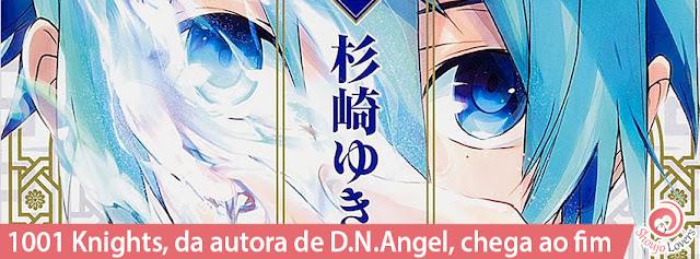 1001 Knights, da autora de D.N.Angel, chega ao fim
