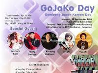 GoJaKo Day - Jangan Lewatkan Event Gombong Japan Korean Day!