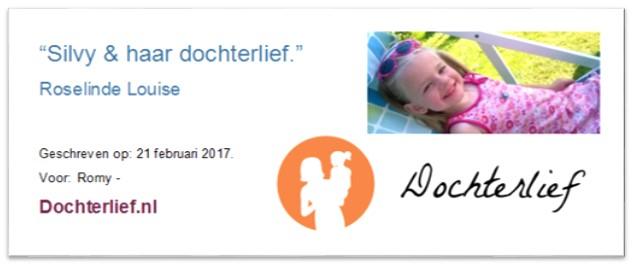 Gastenblog bij Dochterlief