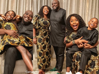 Singer Omawunmi Shares Adorable Family Photo