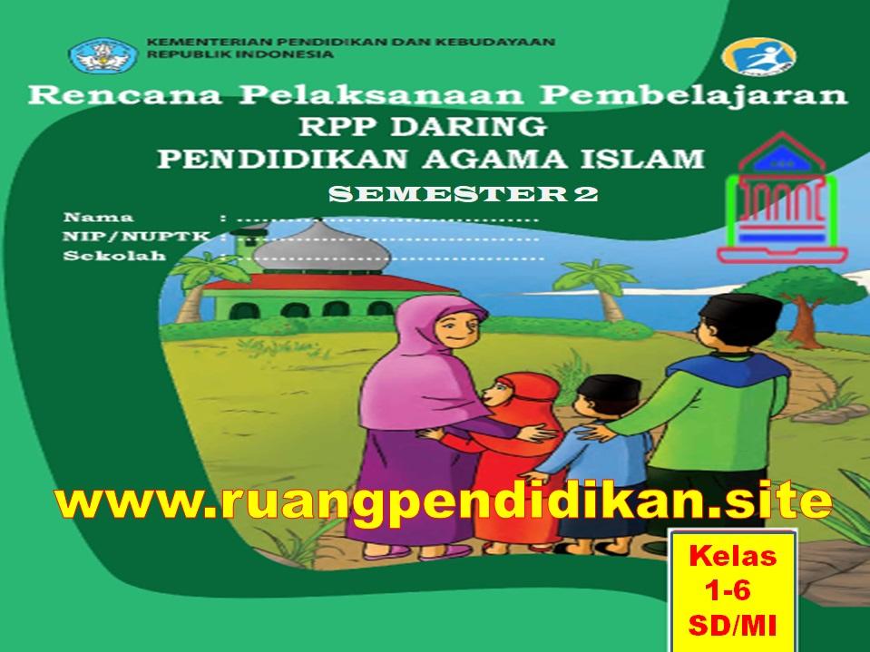 RPP Daring PAI Semester 2 Kelas 1 2 3 4 5 6 SD/MI