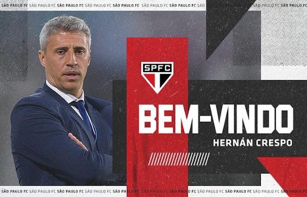 Oficial: Sao Paulo firma al técnico Hernán Crespo