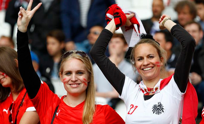 Картинки по запросу austria fans