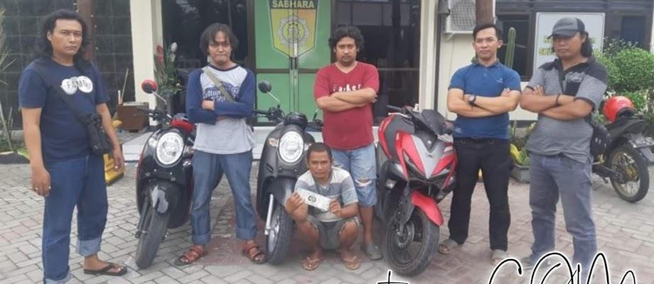 Pencuri Motor, Tak Sadar Jual ke Pemiliknya Sendiri