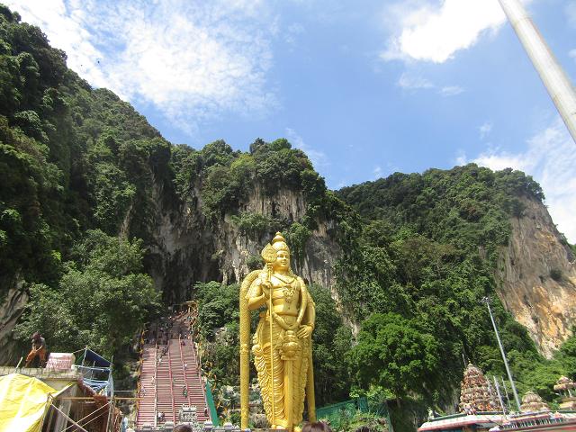 wisata batu caves malaysia