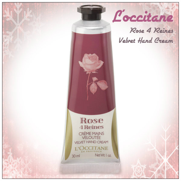 Review: L'occitane Rose 4 Reines Velvet Hand Cream