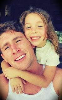 Darren Till With His First Daughter Scarlett Isabella Till