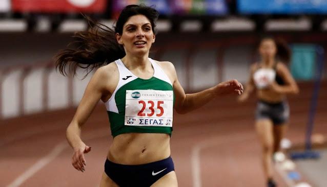 Συγχαρητήρια από τη Μαρία Ράλλη στη Ναυπλιώτισσα χρυσή Πανελληνιονίκη Κωνσταντίνα Γιαννοπούλου