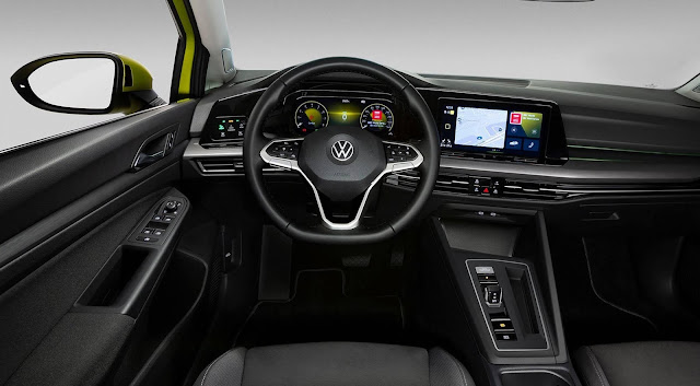 VW Golf Mk8 2020 - interior