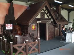 rumah coklat
