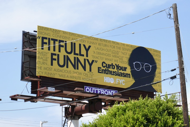 Curb Your Enthusiasm 2020 Emmy FYC billboard