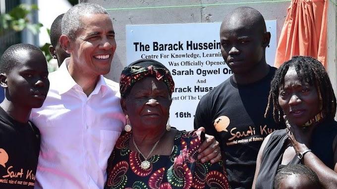 Barack Obama's step-'granny' dies in Kenya aged 99