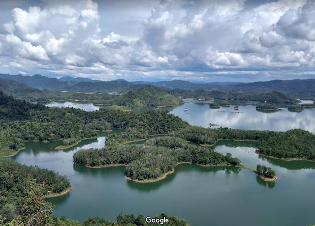 Panorama Ulu Kasok Raja Ampat Riau