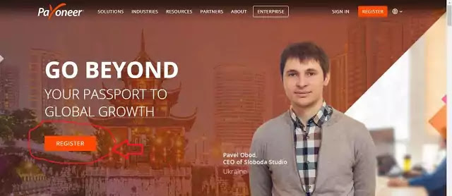 how to create payoneer account in nepal