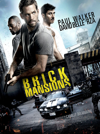 Brick Mansions 2014 Dual Audio ORG Hindi 750MB BluRay 720p ESubs poster