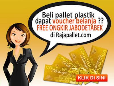 Promo Akhir Tahun Beli Pallet Plastik Free Voucher Belanja & Free Ongkir Jabodetabek