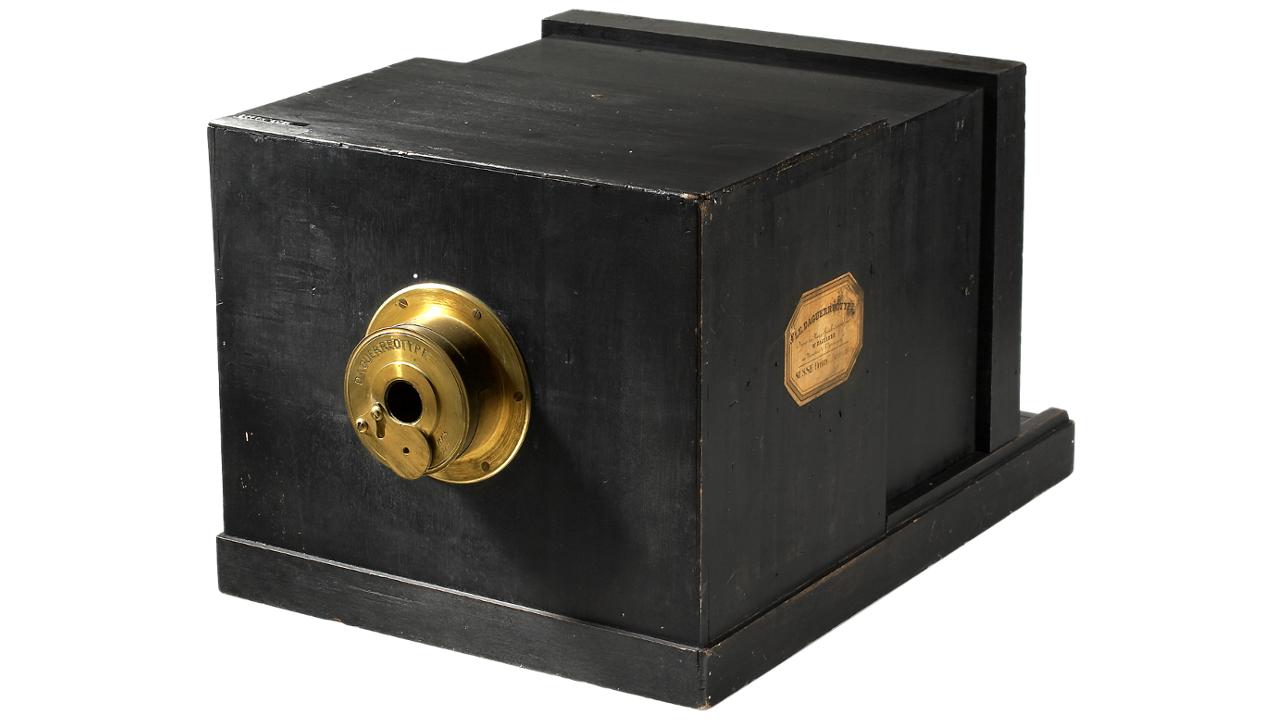 câmera de Daguerreótipo