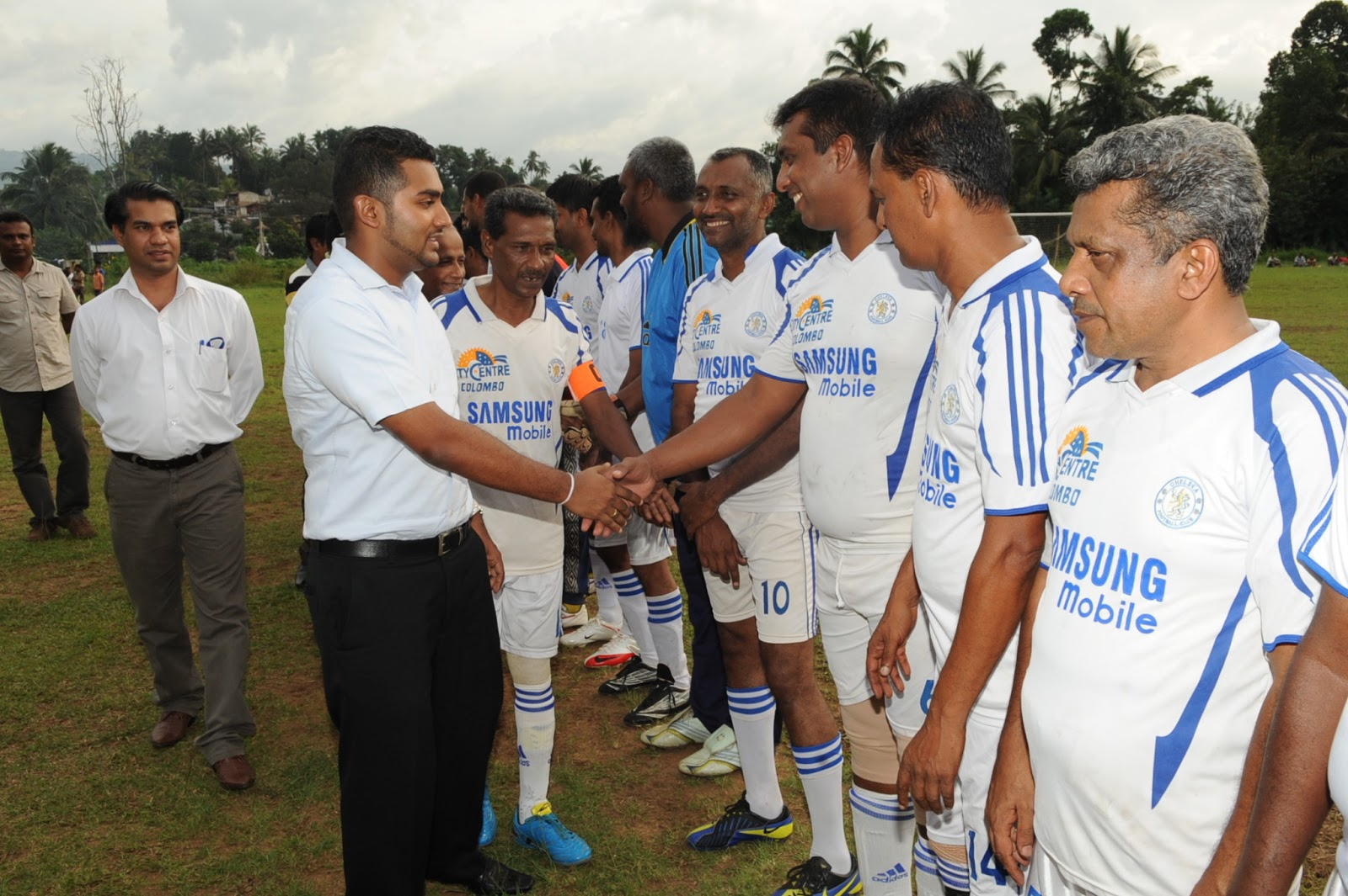 Prime Minister's News Editor: Gampola Football English