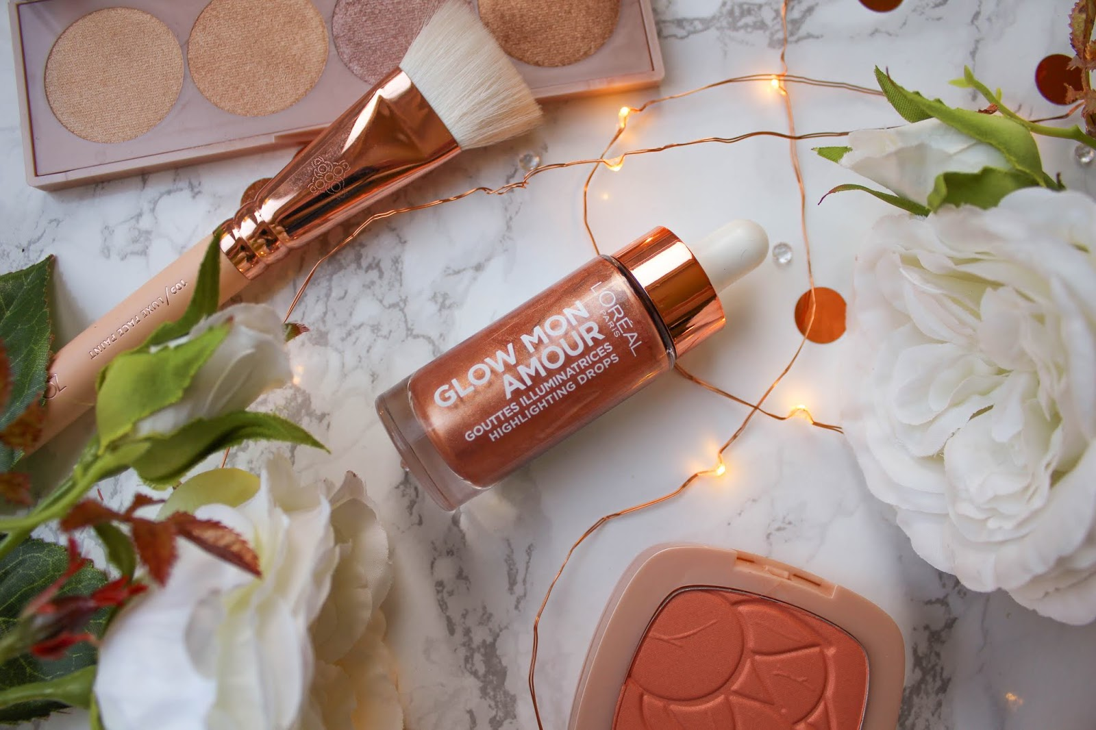 Glow Mon Amour Highlighting Drops in Bellini