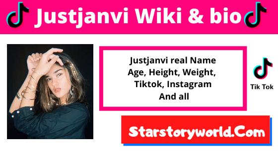 Just Janvi [TikTok Star] Age, Height, Boyfriend, Wiki, Biography and More