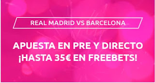 Mondobets promo Primera Iberdrola Real Madrid vs Barcelona 4-10-2020