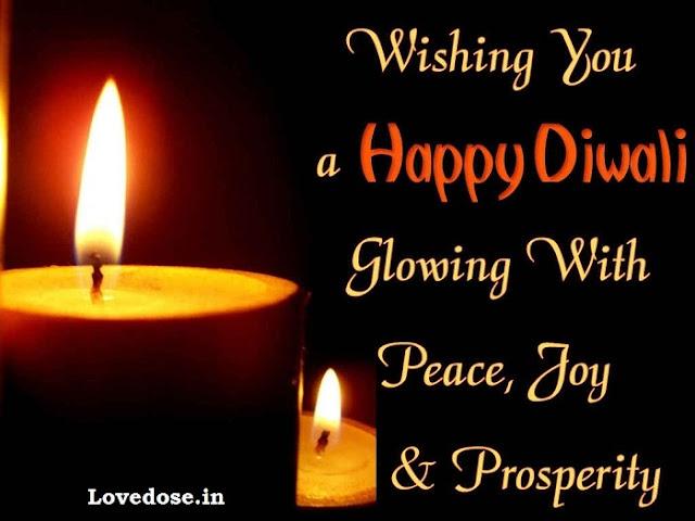 Advance Diwali Wishes For Girlfriend Hindi/English