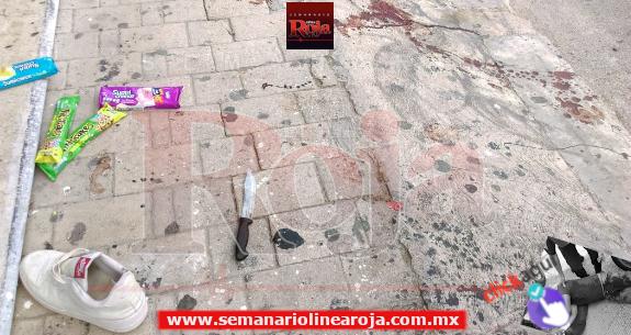 Apuñalan a ladrón que intentó robar una tienda en la colonia Gonzalo Guerrero