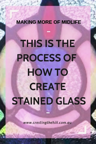If you're looking for an insight into the stained glass process this is my experience #stainedglass #leadlight