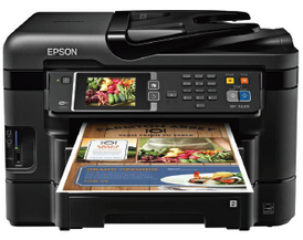 Epson WorkForce WF-3640 driver software for Windows, Mac, Linux