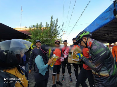 Peduli Wabah Covid-19, Kapolda Laksanakan Bakti Sosial di Desa Tangkit Baru