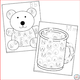 letter search activities