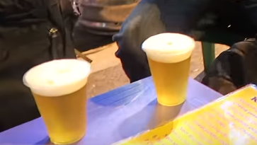 Vietnamese Bia Hoi Beer