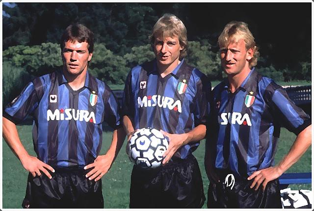 Matthaus Klinsmann Brehme Inter