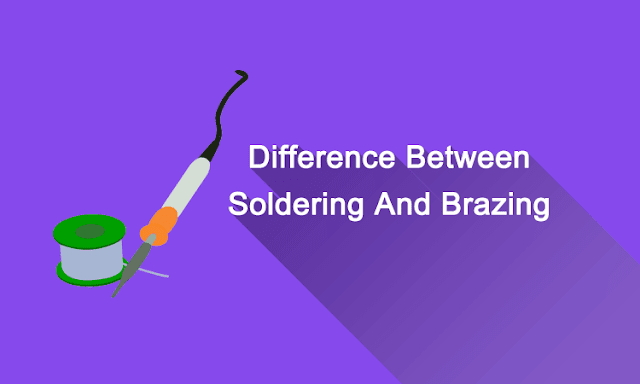 Difference Between Soldering And Brazing image