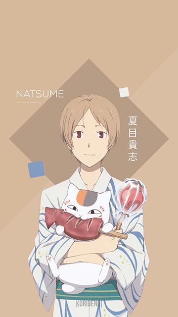 Natsume Takashi - Natsume Yuujinchou Wallpaper
